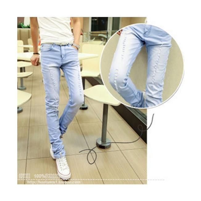 Guys in Light Blue Jeans Jeans Men Jeans Light Blue