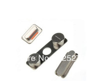 DHL Free complete replacement  side button   for iPhone 4S  200pcs/lot (power volume mute switch)