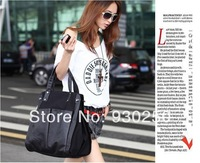 2014 New fashion Free shipping women  PU handbag LY-H037