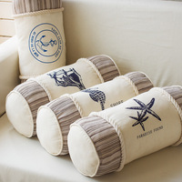 Tomato ocean cushion pillow cylindrical fabric print decoration home