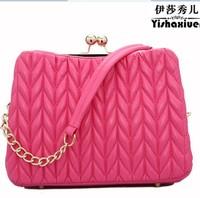 Plaid women's small bag shoulder bag