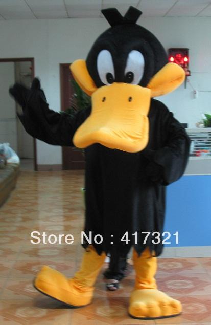 2015 duck costumes hot sell daffy duck mascot costume(China (Mainland))