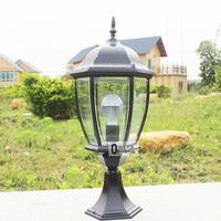 Outdoor fashion street lamp column head outdoor waterproof floor lamp