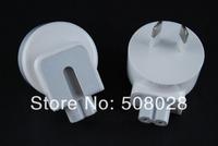 10pcs/lot,Origianl AC Power Adapter AU Detachable Plug Head For MACBOOK IPAD 1 IPAD 2 AC Adaptor