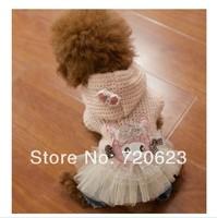 Autumn Winter Ballet Dog Sweater Dog Clothing Wear Coat Warm Jacket Dog Clothes