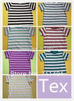 2014 New kids Girls Boys Cute Short Sleeve Tshirt Children T-shirt Kids Summer Clothes 5pcs/lot Free Shipping