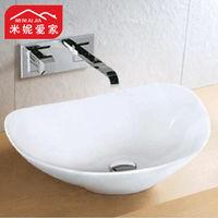 Minnie 53 42 ceramic fashion counter basin heart table plate advanced glazed basin