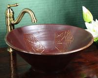 Jingdezhen ceramic counter basin wash basin wash basin wash basin grille window