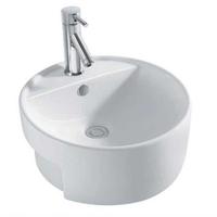 Ceramic basin wash basin round 43 17 embedded counter basin fashion wash basin