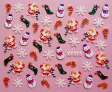 christmas nail sticker promotion