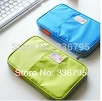 Free Shipping storage bag stationery bag travel clutch documents bag card holder
