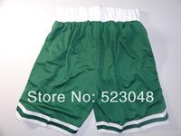 Free shipping Men Basketball Shorts Boston 9 Rajon Rondo 8 Jeff Green White new fabric Brand Shorts.embroidery logos.