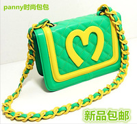 2014 hot sale Luxury Brand Mcdonald Chips Shoulder chain Bags women messenger bags high quality PU leather handbags 3 colors