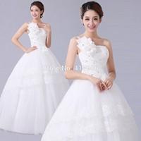 HOT Free shipping  2014 new chiffon designer wedding dress princess sweet bridal wedding grown HS027