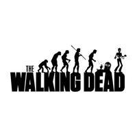 High Quality the Walking Dead Evolution TV show  Funny 100% Cotton Casual Fashion Print  T-shirt Tee Dress Camiseta Clothing