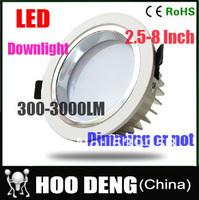 NEW! LED Ceiling Light 900-1200lumen Ceiling Lamps Downlight CE&RoHS AC85-265v Warm White Cool white Ceiling LED Lights For Home