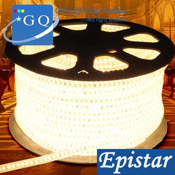 50m/lot 3014 LED strip light 100leds white/warm LED string Waterproof 100v110v120vInstead of 5050 led strip 5630 led strip(China (Mainland))