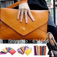 Women messenger bags vintage envelope bag women's handbag briefcase bag one shoulder  cross-body bag  New arrival 2014