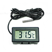 LCD Fridge Freezer Temperature Digital Thermometer, freeshipping Wholesale