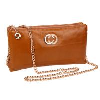 2014 New Arrival Women Handbag Women Genuine Leather Wax Oil Women's Summer Chain Bag Shoulder Bag Women Messenger Bags Desigual