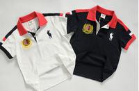 2014 summer new arrival wholesale 5pcs/lot 100% cotton brand name kids top tee colors patchwork letter NO 3 children boy t shirt