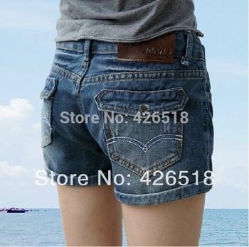 2014 новый горячая распродажа высокое качество джинсовые шорты женская щипцы для ...