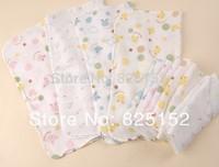 20pcs/lot 31x31cm ordinary density cute Baby boy girl Gauze Muslin Washcloth Baby Wipe Sweat Absorbing Towel,soft Handkerchief