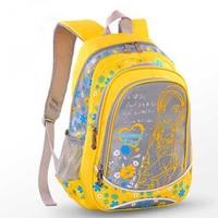 2014 new orthopedic primary children & women bag kids school bag nylon printing shoulder backpack for teenagers