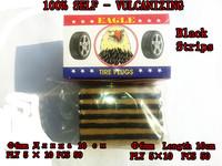 Car styling Recover Car Tire Strips Tire Repair Tools (50PCS) Black 100% Self-Vulcanizing