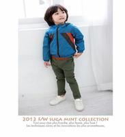 Hitz boys pants pants zipper pocket children children leisure trousers