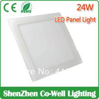 led square panel light 300x300 ultra bright,Warmwhite/White,Ceiling light indoor lighting 2835 SMD 120leds,4pcs /lot