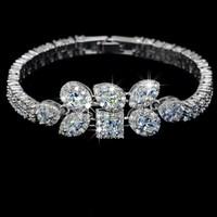 Aaa zircon bracelet female fashion crystal jewelry accessories honey lovers