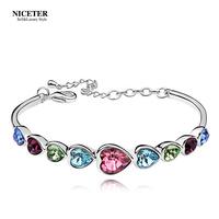 Austria crystal bracelet female fashion bracelet jewelry