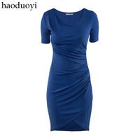 Fit 2014 short-sleeve dress lining 2 6 full haoduoyi
