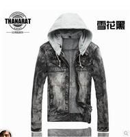Free Shipping 2014 New Spring mens jackets and coats Fashion man casual denim jacket men's clothing jeans jacket men