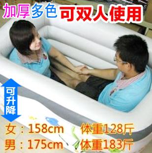 Super grande piscina espessamento inflável bebê adulto bebê criança calor Grande isolamento banheira(China (Mainland))