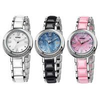 KIMIO Fashion Classic Quartz Bracelet Watch Elegant Design K496M Women Dress Watch Wristwatches for Girls Lady Female