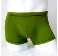 Kq panties male panties modal trunk mid waist solid color panties male boxer shorts panties