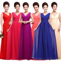 Long Evening Dress 2015 Fashion Women's Summer Plus Size Party Dress Mother Of Bride Bridesmaids Dresses Prom Dress Custom Made