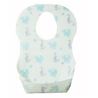 50 pcs/lot 2014 NEW ! Children Babies Bib/Kangaroo Baby Disposable Waterproof Bib/Convenient/Wholesale