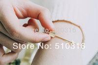 10pcs Wholesale 2015 Fashion Arrow  Bracelets 18K Gold/Rose Gold/Silver Arrow Bangle ,SB057