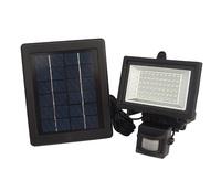60led human body induction solar lamp  outdoor solar pir floodlight  Free shipping