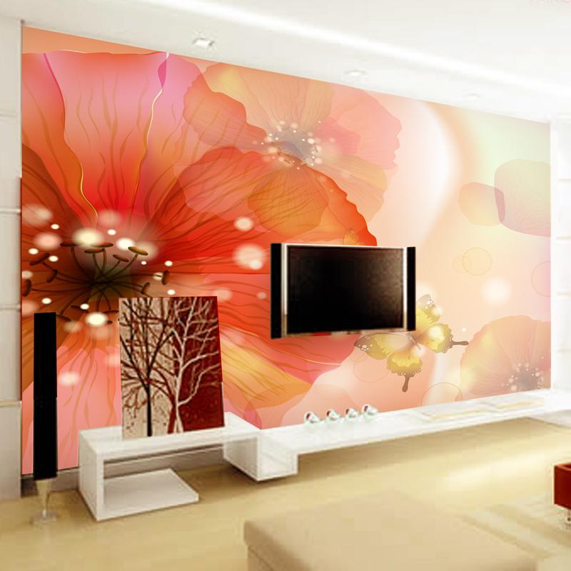 Online kopen wholesale vlinder design wallpaper uit china vlinder design wallpaper groothandel - Moderne slaapkamer behang ...