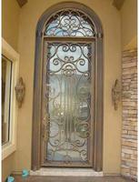 Best price for door ---ETN D1003 iron door ,bathroom entry doors
