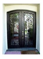 Free shipping door ETN D1004 double entry doors entrance doors for sale