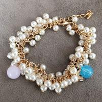 Boutique bracelet gentlewomen elegant pearl bracelet