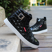 Male sports casual elevator shoes men's shoes men's popular shoes fashion skateboarding shoes