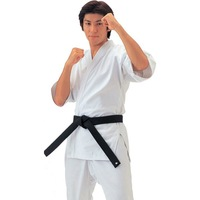 MOSSO White Cotton Karate Uniform  Karate Training Suit High Quality  Karate Performance Clothing For Children And Adult