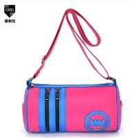 2014 women's handbag canvas bag shoulder bag messenger bag