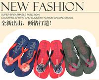 AliExpress New Summer Beach Series men's fashion personality charm flip flops E124